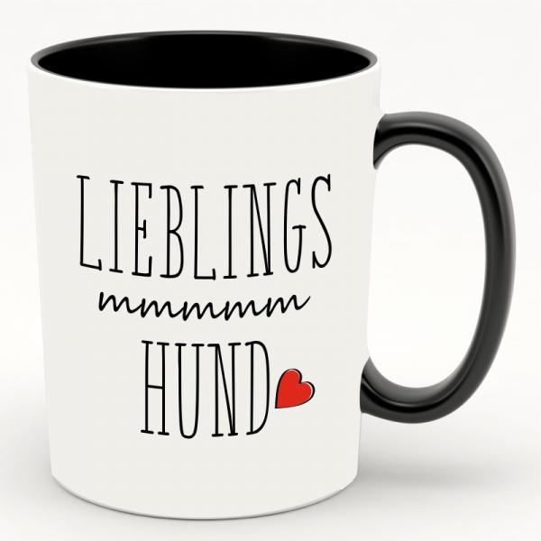 """Kaffeebecher/ Tasse """" Lieblings Hund"""""""