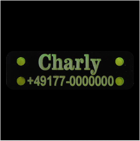 Acryl Label