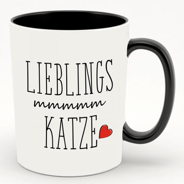 "Kaffeebecher/ Tasse "" Lieblings Katze"""