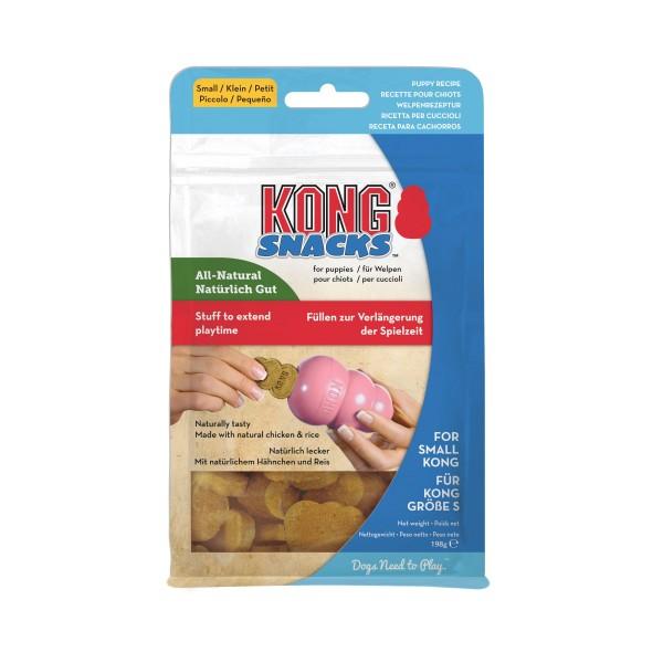 Hundesnack KONG® Snacks™ Puppy, Huhn & Reis