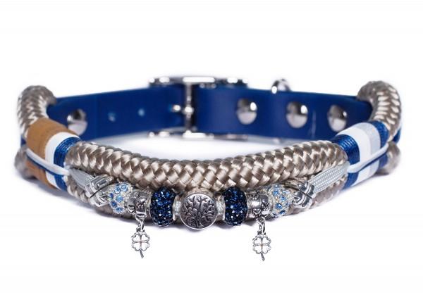 Emmy und Pepe Halsband Wau-Shine mit Perlen