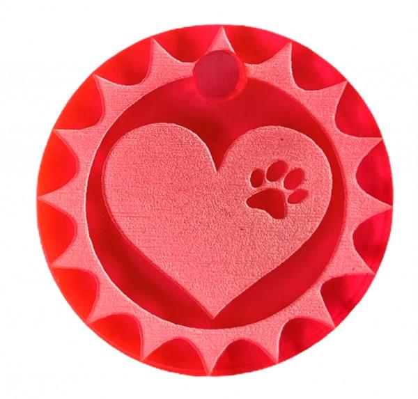 """Sondermarke Hundemarke """"Heartbreaker"""""""