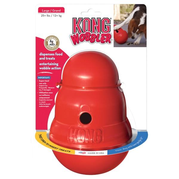 Hundespielzeug KONG® Wobbler